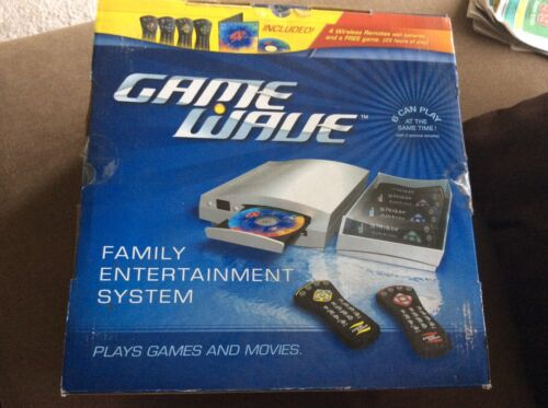 Game Wave Video Game System+ And 3 Extra Game (Final Price) (Brand New)
