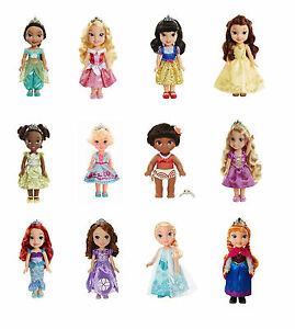 Disney Princess 15 Quot Toddler Doll Elsa Anna Moana Aurora
