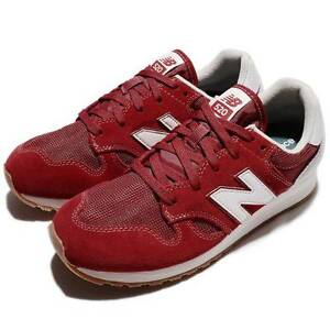 official photos 2bdb2 05286 Image is loading new-balance-520-Jogging-Shoe-RED-SUEDE-NYLON-