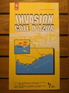 Space Invader Invasion Cote d'azur 2007 Invader Map 16 CAZ