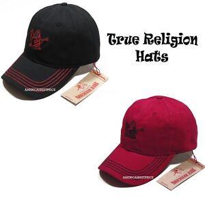 d2e3fca8 TRUE RELIGION BUDDHA SOLO NEW MEN'S BASEBALL CAP/HAT STRAPBACK NWT ...