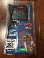 Johnson 40-6680 Self-leveling Five beam Dot Laser Open Box New