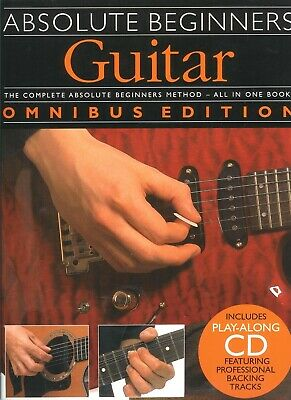 Absolute Beginners Guitar Scales Book and CD NEW 014001003