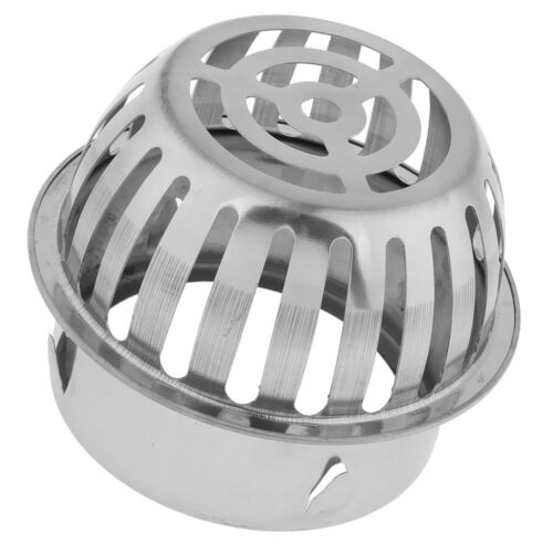 Stainless Steel Drain Roof Dome Drainer Outdoor Anti Blocking Strainer