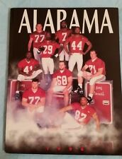 1996 Alabama Football Media Guide - Gene Stallings Final Season
