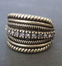 SSU14 Premier Designs Jewelry NOBLE Ring Size 8