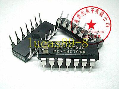 5PCS MM74HCT04N IC INVERTER HEX 14-DIP MM74 74H