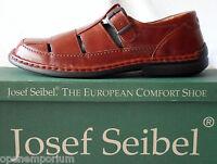 Josef Seibel Mens Wesley Casual Slip On Shoes Uk 8 Eu 41 Brandy Rrp £69.99
