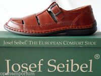 Mens Shoes Josef Seibel Wesley Casual Slip On Uk 8 Eu 41 Brandy Rrp £69.99