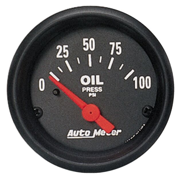 Autometer 2634 Z Series 2 1/16' Electric Oil PSI Gauge
