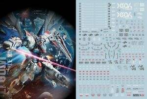 Gundam Seed Water Slide Decal Simp Sticker F14 Mg Freedom 2 0 Ebay