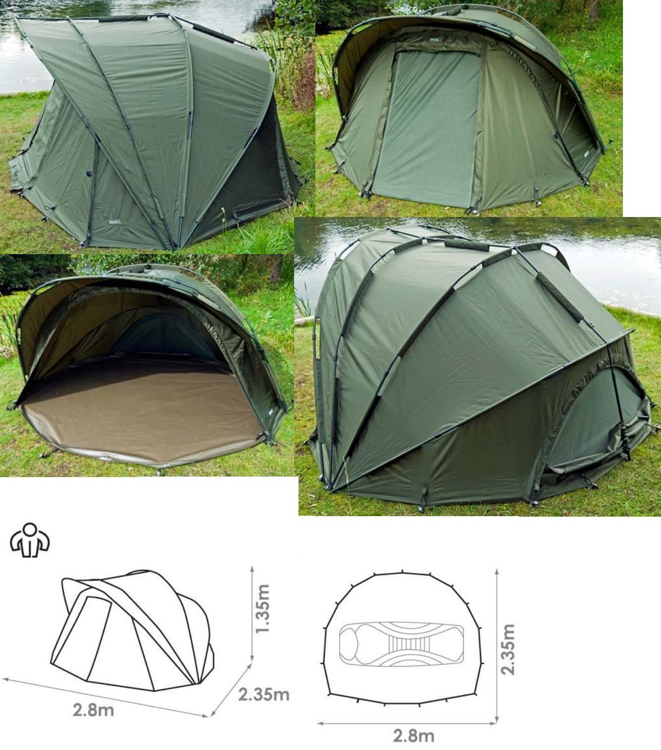 Chub Super Cyfish Bivvy 1 Man CSCB 010 Tent Fishing Tent Carp Tent Dome