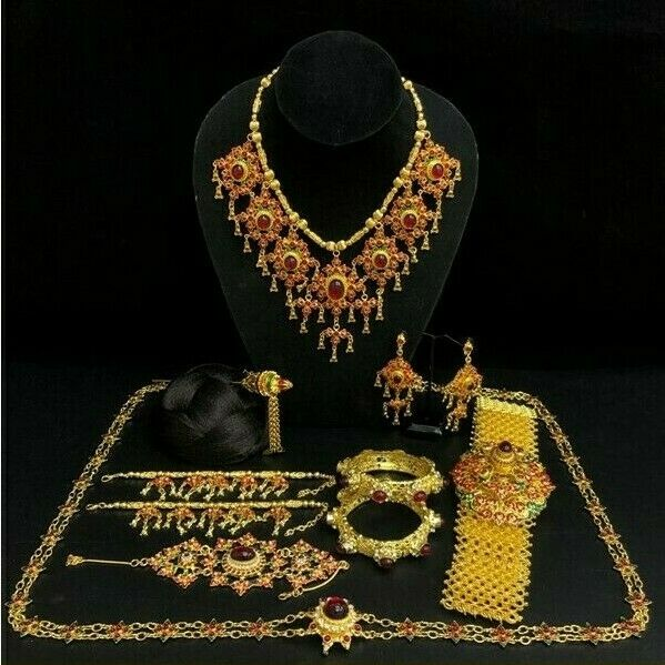 1 Beauty Thai Special Traditional Jewelry Occasional Wedding Stage Show Parade