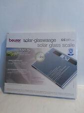 BEURER Design Solar Glaswaage Waage Personenwaage GS380