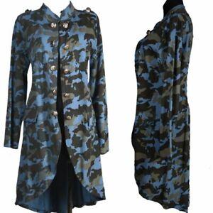 46 Blazer Military 38 L Print Camouflage 44 Mantel Details Jacke About Trench M Xl Damen 40 42 OkPiuXZ
