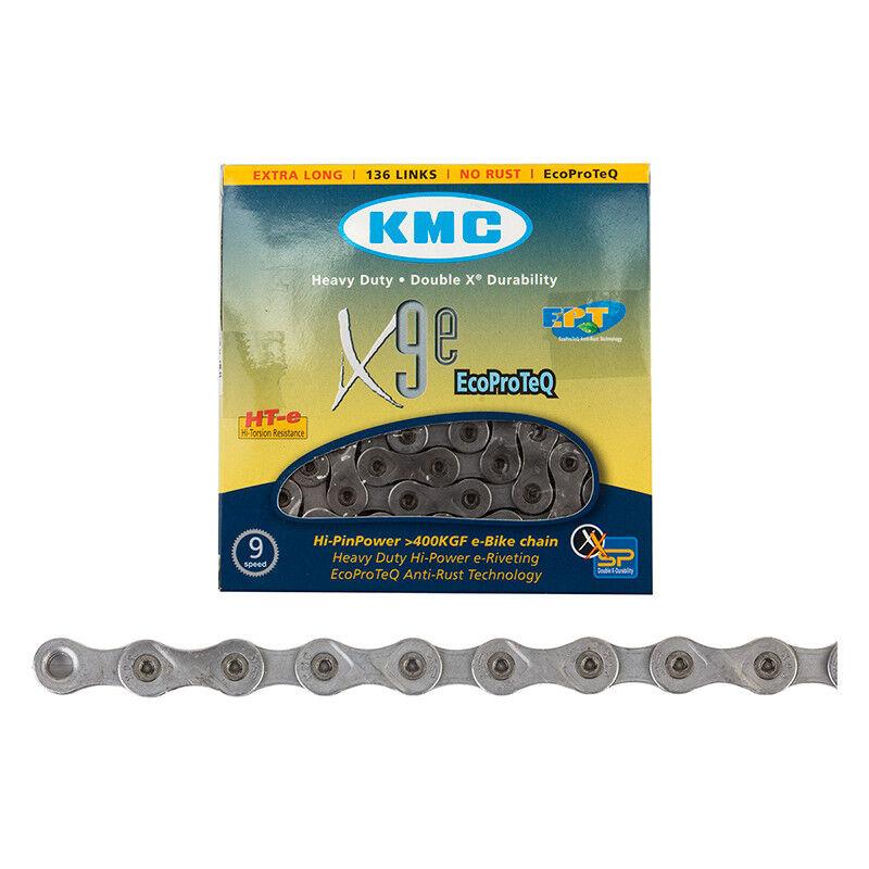 Kmc X9e Ept Cadena Kmc 1   2x11 128 X9e Ept 9s 136l