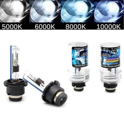 A Pair 5000K D2S D2R D2C HID Xenon Bulbs Lamps Replace Factory HID Headlights #E