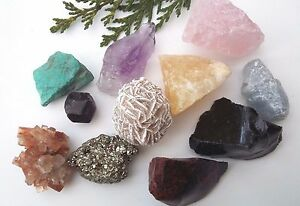 Natural Raw CRYSTAL & FOSSIL SPECIMENS - Massive Choice! Healing Reiki Gemstones