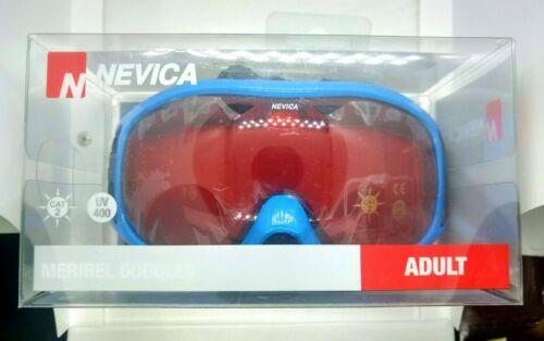 Nevica Meribel Ski Goggles Blue Adults Mens Womens Unisex UV 400 Protection