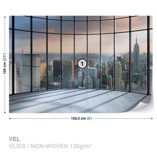 1510WS FOTOTAPETE VLIES FOTOMURAL XXL Ausblick New York City Modern