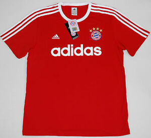 Image is loading BAYERN-MUNICH-ADIDAS-ORIGINALS-FOOTBALL-SHIRT-SIZE-L-