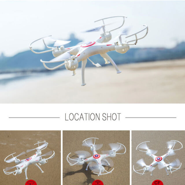 X5SW RTF Drone 2.4GHz 6Axis Gyroscope WiFi FPV RC Quadcopter Helicopter O