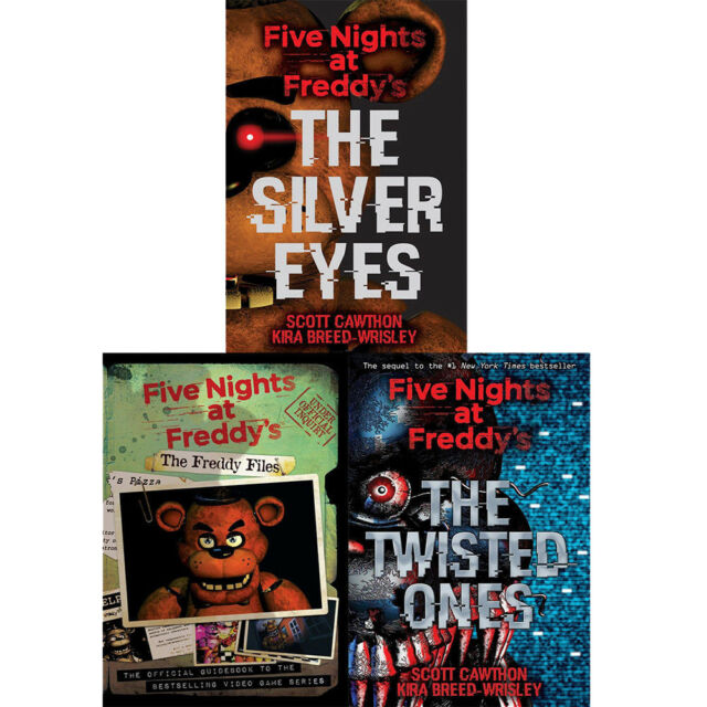 Five Nights At Freddys The Silver Eyes Book
