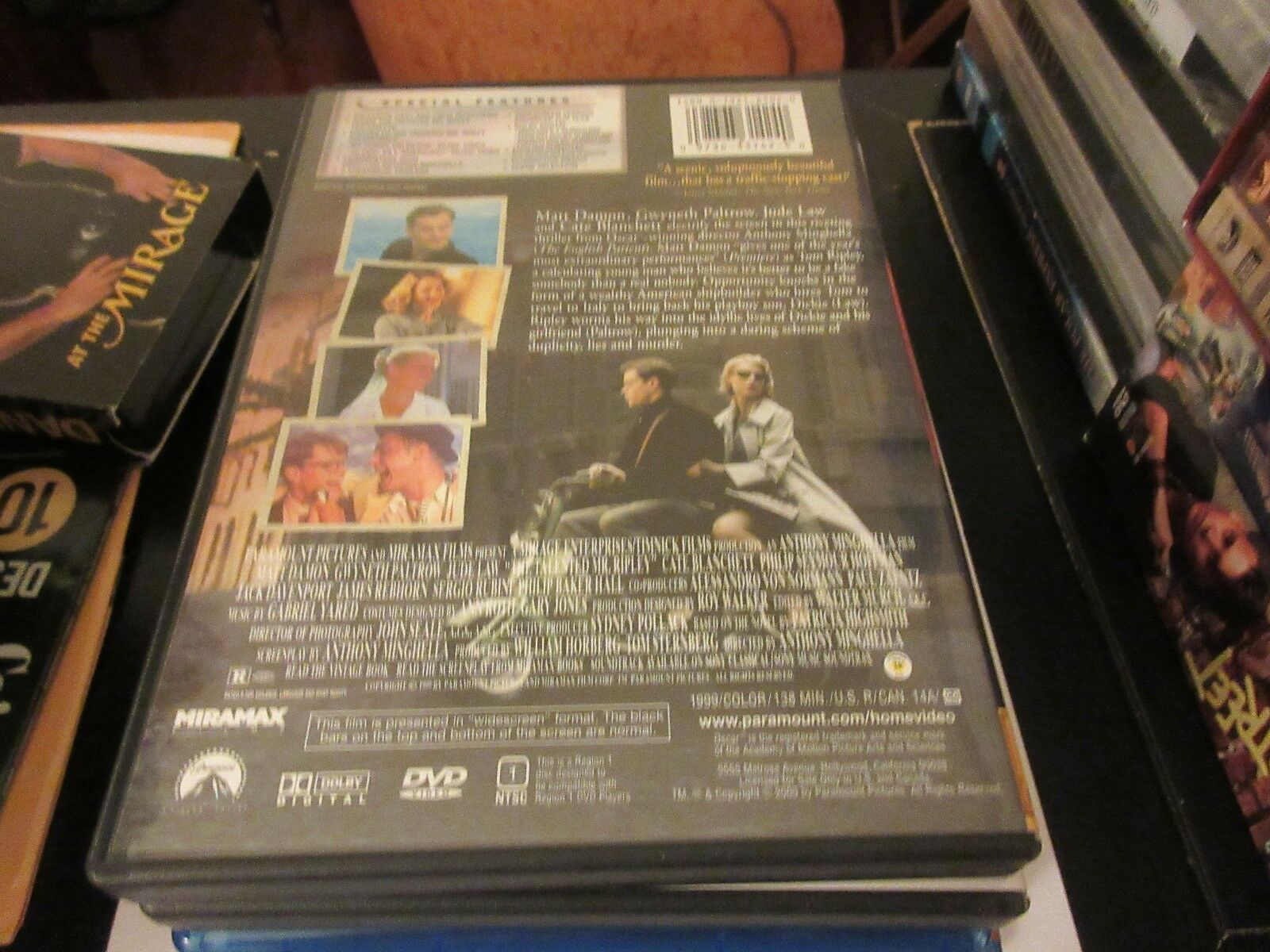 The Talented Mr. Ripley , DVD 9398710267792