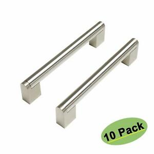 Details About Homdiy Drawer Pulls Brushed Nickel Cabinet Hardware 10 Pack Hdj14sn Kitchen Ca