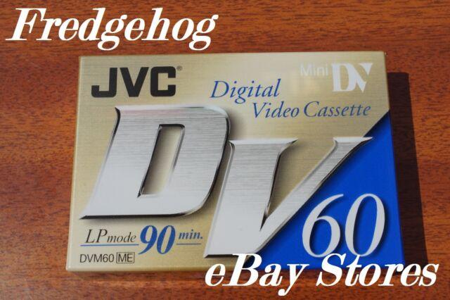 A JVC MINI DV DIGITAL VIDEO CAMCORDER TAPE / CASSETTE - SUPERB QUALITY - NEW