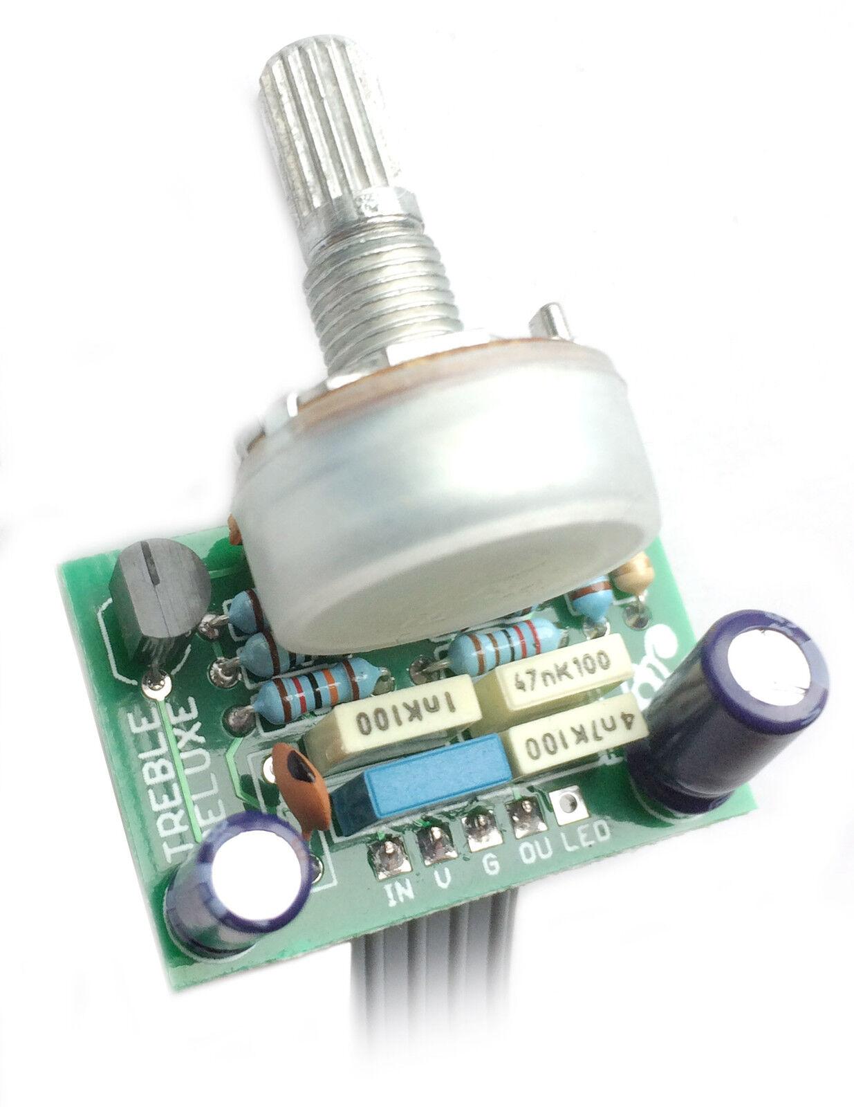 Kit de pedal de efectos agudos Deluxe-Hazlo Deluxe-Hazlo Deluxe-Hazlo tú mismo con PCB fabricado profesionalmente d6b618