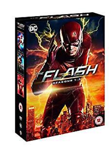 THE-FLASH-COMPLETE-SERIES-1-3-DVD-Box-Set-Season-1-2-3-Grant-Gustin-NEW-R2-UK
