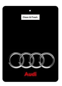 Details about 1pc Audi Car Logo Air Freshener Double sided 2 for £5