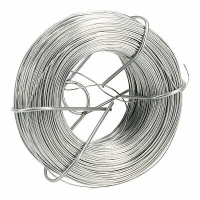 Zinc Plated Wire Roll Hanging Pictures Garden Wire 125 Metres X 0.7mm Thick
