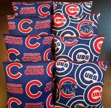 CHICAGO CUBS CORNHOLE BEAN BAGS 8 ACA Regulation Corn Toss Bean Bag Game Bags