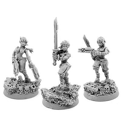 28mm scale GREATER GOOD WIDOWS OF VENGEANCE SQUAD [3U]