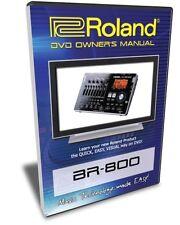 Roland (Boss) BR-800 DVD Video Tutorial Manual Help