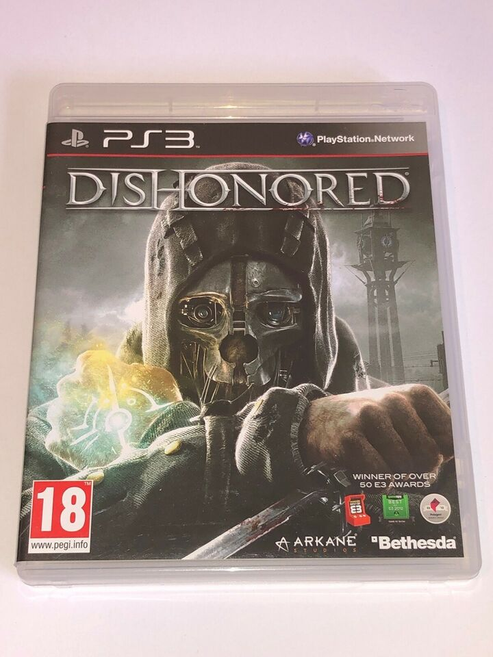 Dishonored, PS3, action
