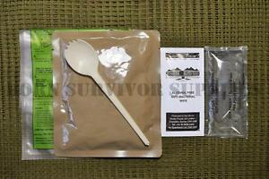 SELF HEATING RATION PACK READY MEAL KIT - Camping Hiking Food Army Survival MRE