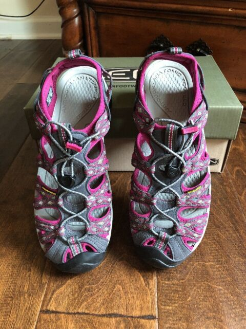97adfbffd5b KEEN Womens Whisper Sandals 1014204 Magnet sangria Size 8 for sale ...