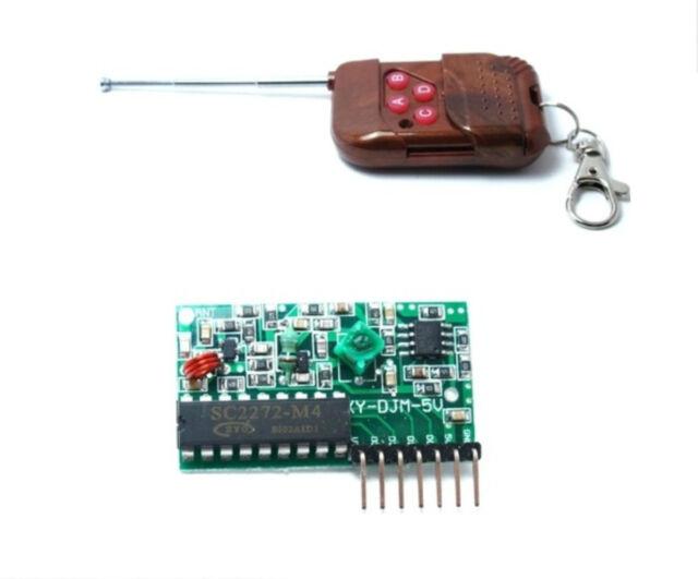 1pcs IC2272/2262 4 channel wireless remote control wireless remote control