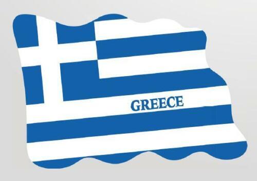 Grèce Greece magnétique drapeau drapeau pays Design de époxyde VOYAGE SOUVENIR