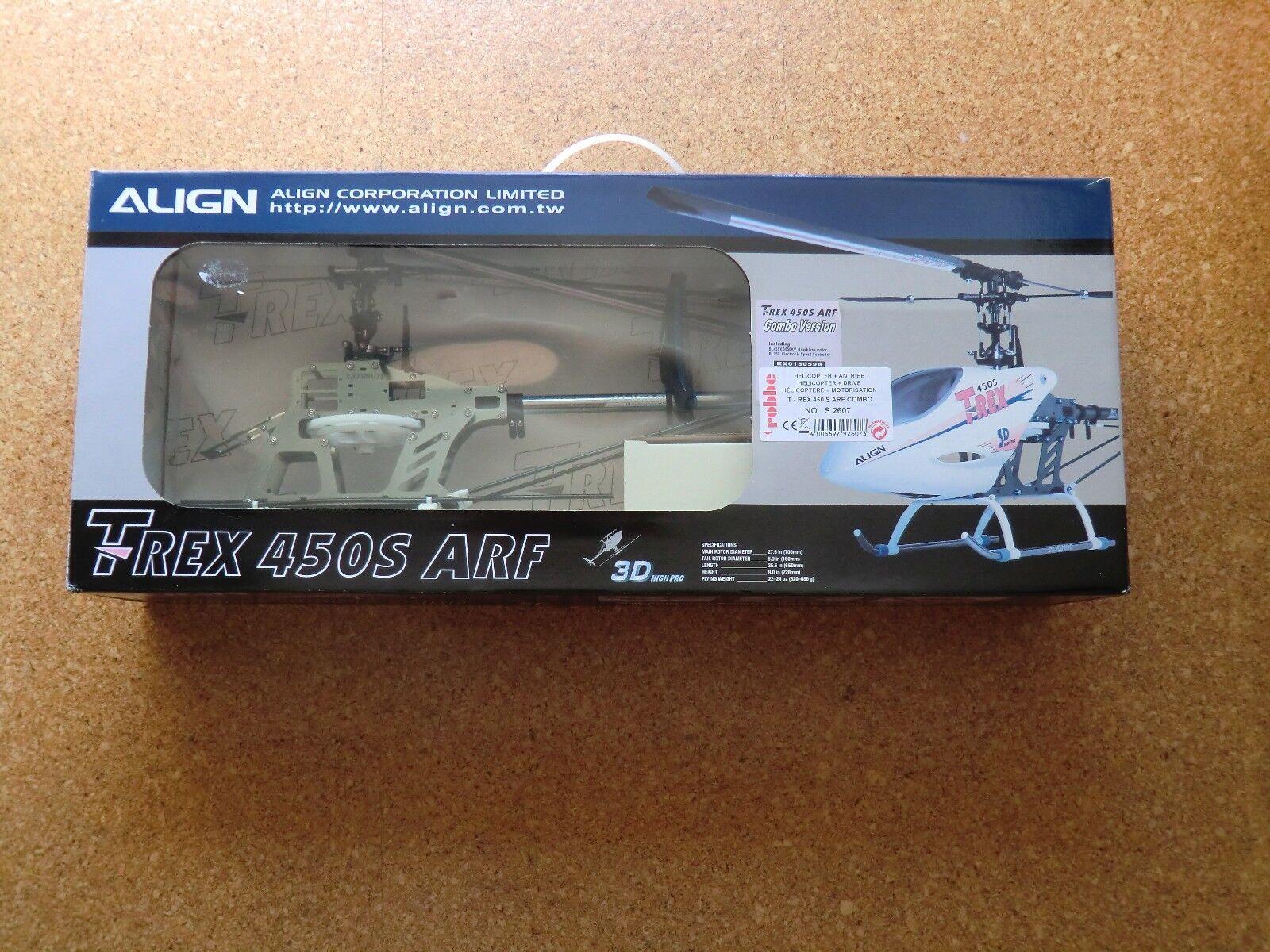 Robbe Align T-Rex 450 S S S der Combo // S 2607  Nouveau  RARE 82b626