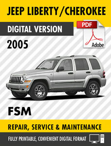 2005 jeep liberty cherokee kj factory repair service manual rh ebay com jeep liberty 2005 service manual pdf 2005 jeep liberty service manual pdf free