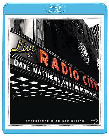 Dave Matthews Tim Reynolds Live At Radio City Music Hall Blu-ray  - $7.77