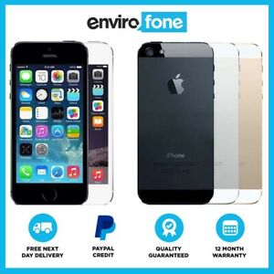 Apple-iPhone-5S-16GB-32GB-64GB-Grey-Silver-Gold-Unlocked-SIM-Free-Smartphone