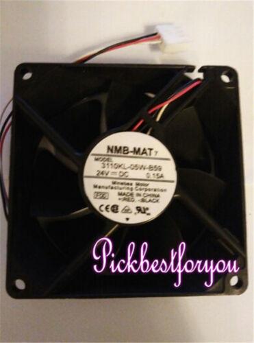 NMB 3110KL-05W-B59 8cm 8025 24V 0.15A 8cm 3pin cooling fan #MG33 QL