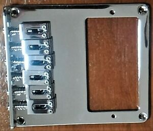 REPLACEMENT-034-TELE-034-STYLE-HUMBUCKER-BRIDGE-CHROME-NEW-FREE-POSTAGE