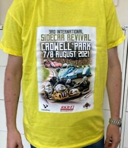 Cadwell Revival T-Shirt 2021 -  Light Yellow Size Extra Large