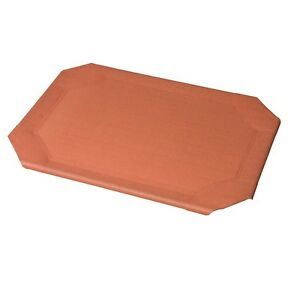 Coolaroo Replacement Dog Bed Cover - Terra Cotta Large - 43.3L x 31.5W in. New